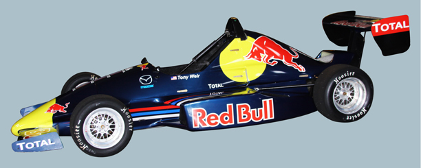 A Tribute To The Red Bull F1 Car On This Formula Mazda Full Wrap